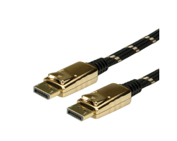 Roline GOLD DisplayPort kabel, DP M/M, 10m