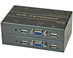 Roline VALUE KVM Extender over RJ-45, USB